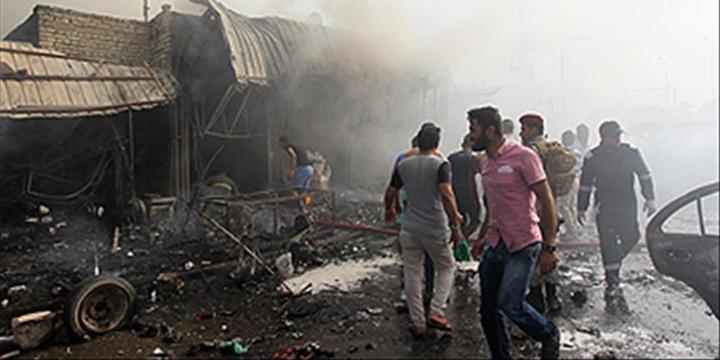 Bağdat'ta Pazar Yerine Saldırı: 33 Kişi Hayatını Kaybetti