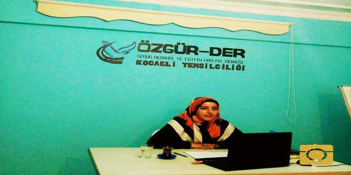 """Kocaeli Özgür-Der'in """"Müslüman Coğrafya"""" Seminerleri """"Bosna"""" Oturumuyla Sona Erdi"""