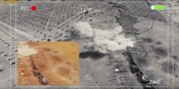 Direnişçiler Güney Halep Operasyonunun Görüntülerini Yayınladı