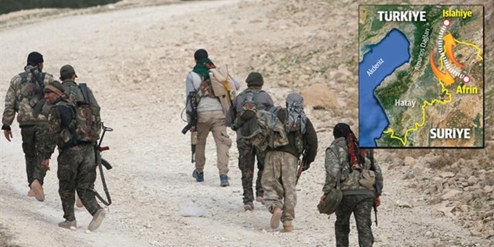 Yeni PKK/PYD Hattı: Afrin-Amanos