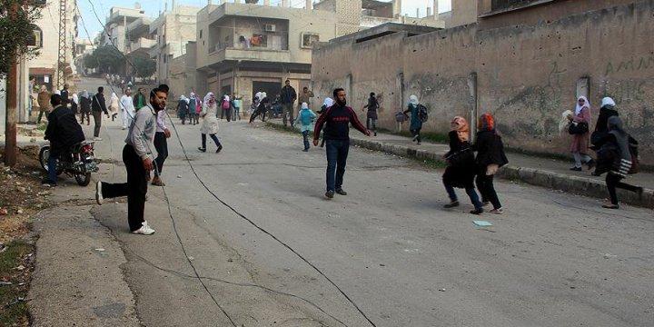 Humus'ta 250 Bin Kişi Abluka Altında