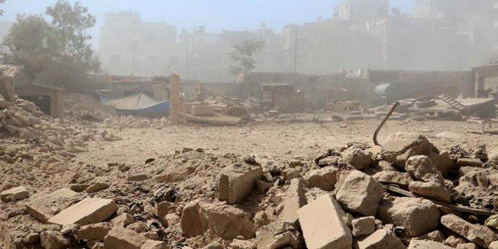 Humus'ta Sivillere Vakum Bombalı Saldırı
