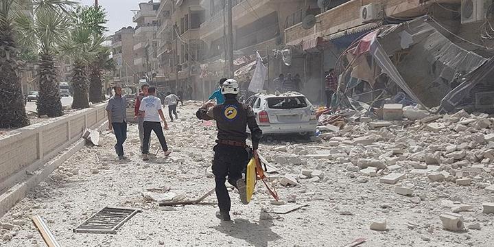 Esed Rejimi İdlib'e Saldırdı: 8 Sivil Hayatını Kaybetti!