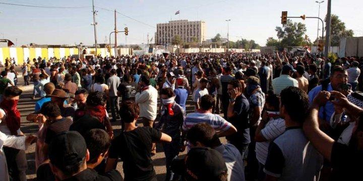 Sadr Güçleri Başbakanlık ve Parlamento Binasını Bastı!