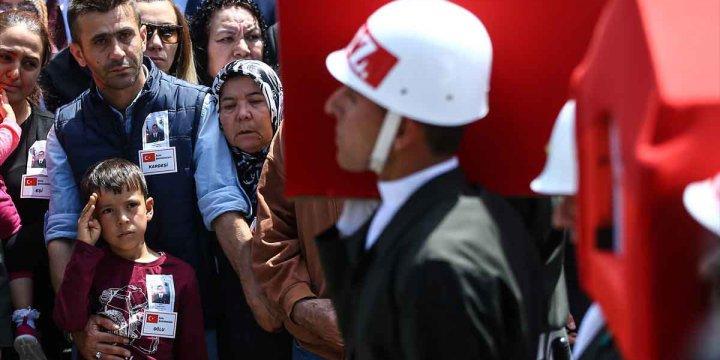 Operasyon Sürecinde 483 Güvenlik Görevlisi Hayatını Kaybetti