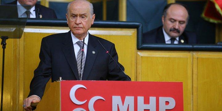 MHP Genel Başkanı Devlet Bahçeli İfade Verdi