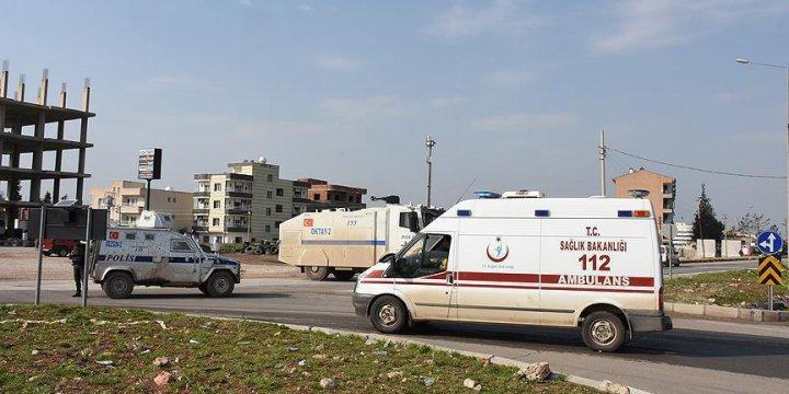 Midyat'ta Jandarma Karakoluna Bomba Yüklü Araçla Saldırı