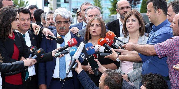 """HDP'den AYM'ye """"Dokunulmazlık"""" Başvurusu"""