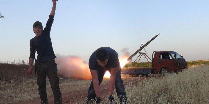 Direnişçiler Hama Askeri Havaalanını Füzelerle Vurdu