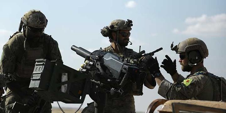 Felluce'de İran Destekli Milisler, Rakka'da PYD Eliyle ABD Tehciri!