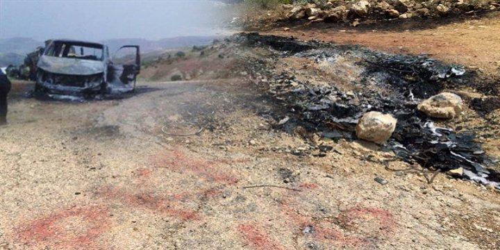 PKK Vahşeti: Muhtarı Diri Diri Yaktılar!