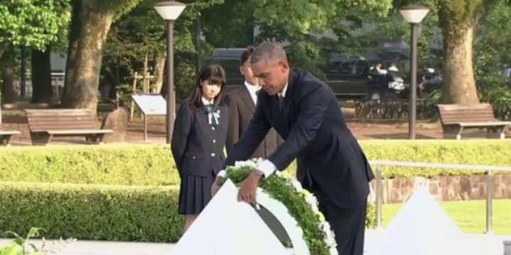 Obama 'Özürsüz' Hiroşima'da!