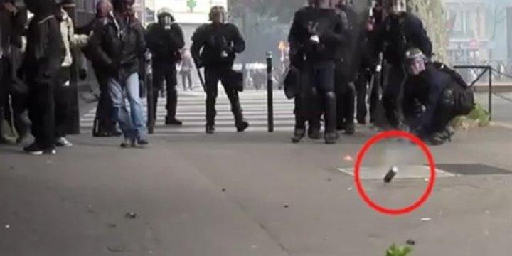 Fransa Polisi Bu Videoyu Gizlemeye Çalışıyor