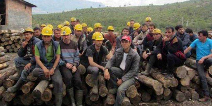 Ermenek'te Maaş Alamayan Madenciler İş Bıraktı