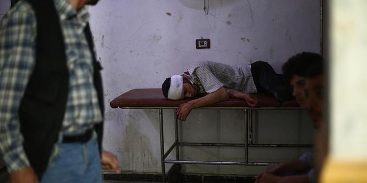 Halep'teki Sahra Hastaneleri Zor Durumda!