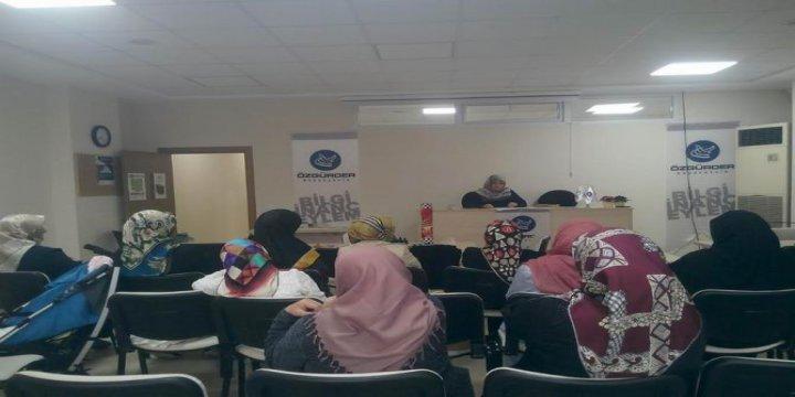 """Başakşehir Özgür-Der'de """"İsrail Mitler Terör"""" Konuşuldu"""