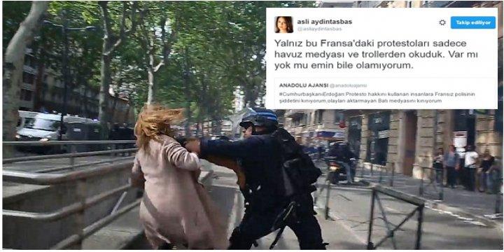 Fransa'daki Olaylar Havuz Medyasının Uydurmasıymış!