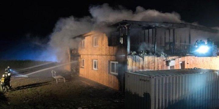Avusturya'da Sığınmacı Merkezi Kundaklandı