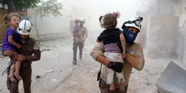 Rusya Yoğun Bombardımanla Katliama Devam Ediyor