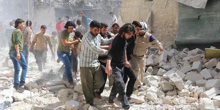 Esed Rejimi Halep'e Saldırdı: 5 Kişi Hayatını Kaybetti!