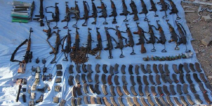 Nusaybin'de PKK Cephaneliği Bulundu