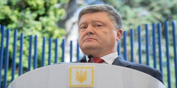 Ukrayna Devlet Başkanı Poroşenko: Rusya Saldırgan Bir Devlet