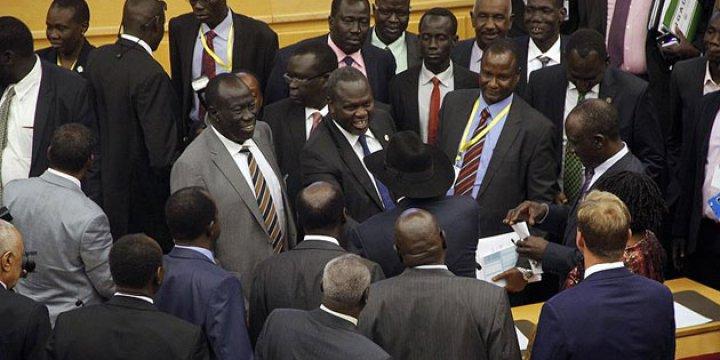 Güney Sudan Geçici Hükümetinde Anlaşma