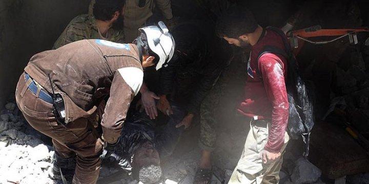Esed, Halep'e Vakum Bombasıyla Saldırdı: 3 Sivil Hayatını Kaybetti!