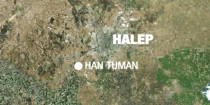 Halep'te Savaş Uçağı Düştü