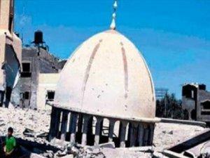 TDV Heyetinden Gazze'deki Cami İnşaatlarında İnceleme