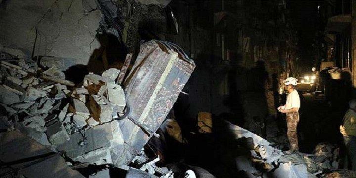 Esed Güçleri Sahur Vakti Sivilleri Vurdu