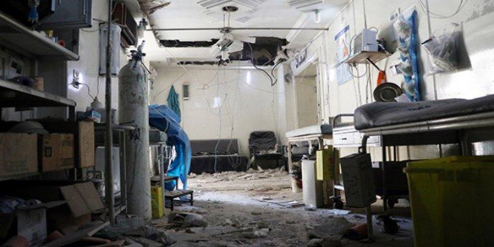Halep'te 3 Saatte, 3 Hastane Vuruldu