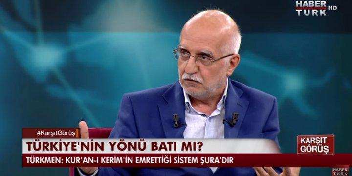"""Karşıt Görüş Programında """"Türkiye'nin Yeri Neresi?"""" Konuşuldu"""