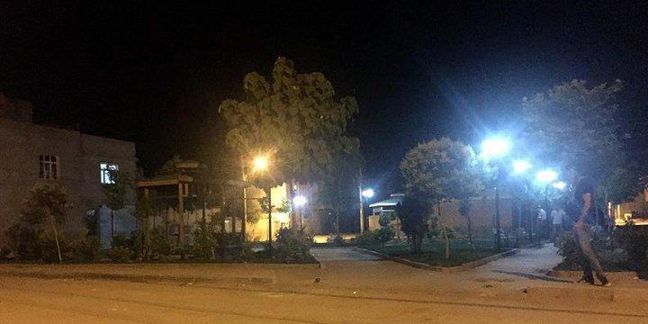 PKK/PYD'li Canlı Bombanın Adı Verilen Parkın Tabelası Kaldırıldı