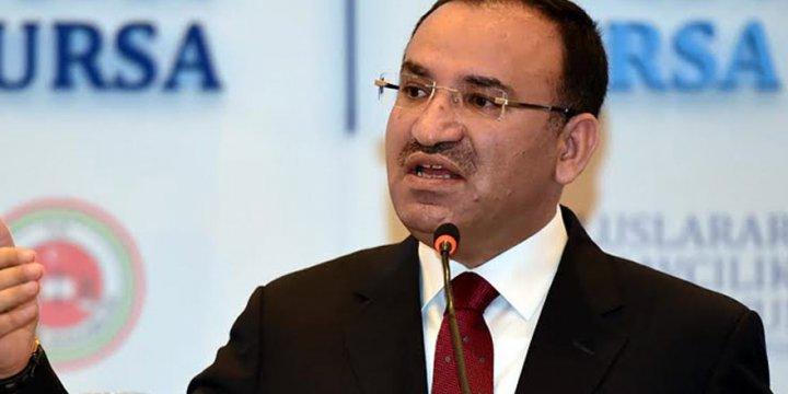Adalet Bakanı Bozdağ'a Göre EMASYA'nın Geri Geldiği Yok