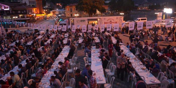 Amasya'da Ümmet İftarı Gerçekleştirildi