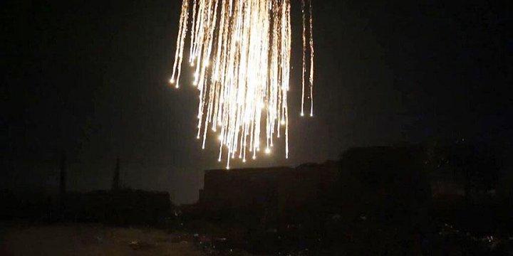 Rusya Suç Olmasına Rağmen Fosfor Bombası Kullanmaktan Çekinmiyor