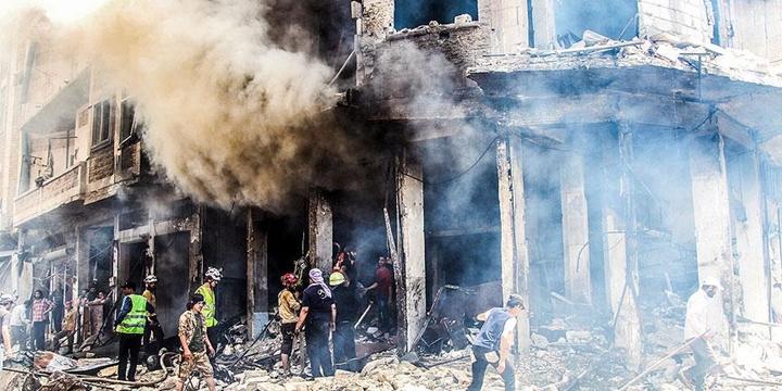 Esed ve Rusya İdlib'e Saldırdı: Hayatını Kaybedenlerin Sayısı 39'a Yükseldi!