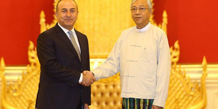 Çavuşoğlu AK Parti Hükümetinin Myanmar Açılımını Anlattı
