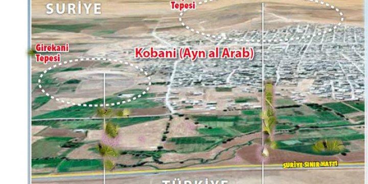 Fransa Askeri Kobani'de Üs Kuruyor