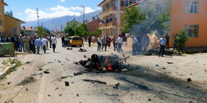 Tunceli Ovacık'taki Patlamanın Nedeni Bombalı Araç Saldırısı