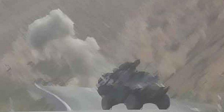 Van Gevaş'ta Bombalı Saldırı