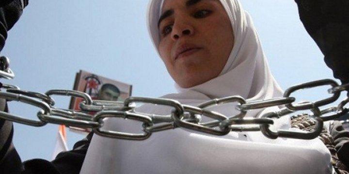 İşgalci İsrail Sekiz Ayda 215 Filistinli Kadını Gözaltına Aldı