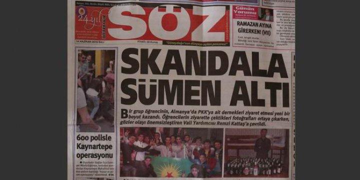 Skandalı Manşetine Taşıyan Gazetenin Bugünkü Baskıları Çalındı