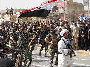 Haşdi Şabi Milisleri Felluce'de Yağma Yapıyor