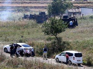 Arnavutköy'de Polisle Şüpheliler Arasında Çatışma