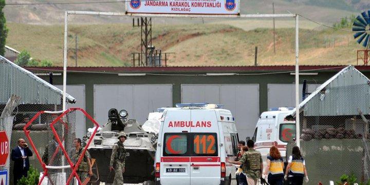 PKK Muş'ta Karakola Saldırdı