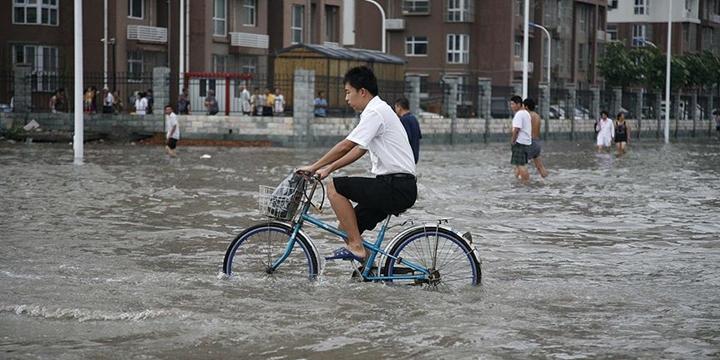 Çin'de Şiddetli Yağışlar: 10 Ölü