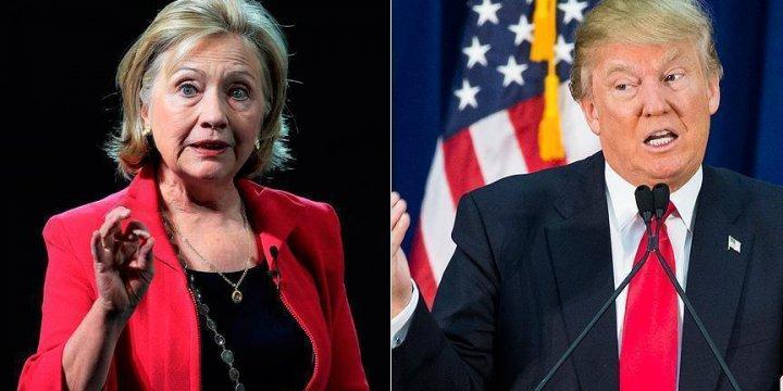 Son Ankette Clinton, Trump'ın 6 Puan Önünde