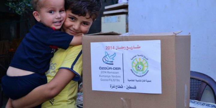 Ramazan Kumanyalarımız Suriye ve Gazze'ye!